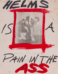 Art Plus Positive Poster Poster Helms Pain in Ass
